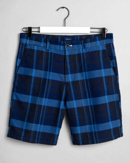 Regular Fit Madras Shorts