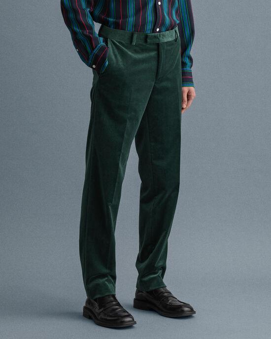 Anzughose aus Samt