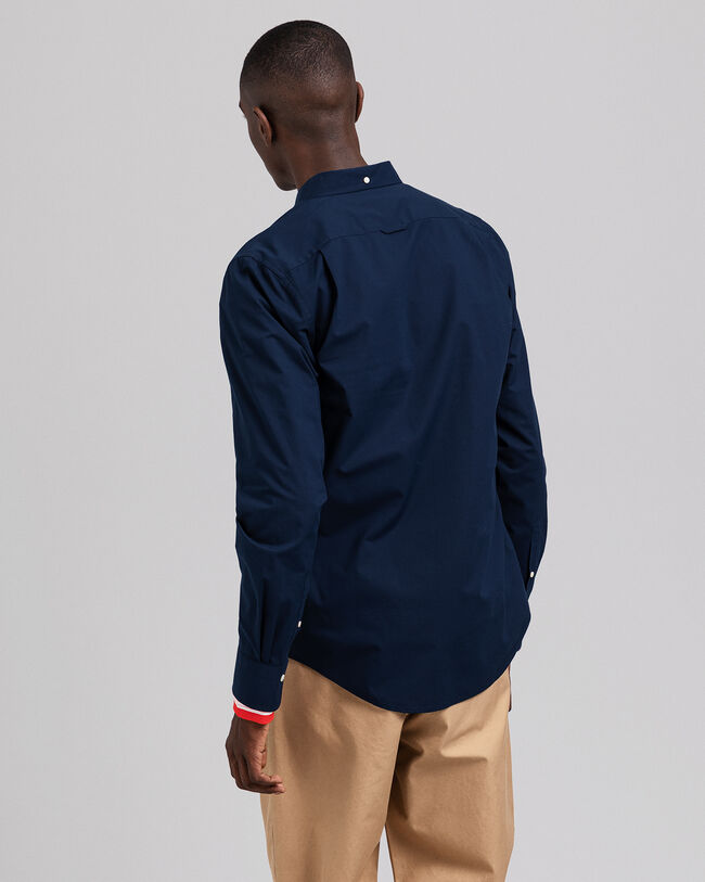 Slim Fit Broadcloth Hemd
