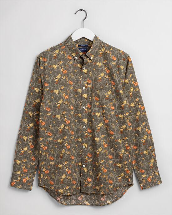 Garden Regular Fit Hemd mit Mini-Print