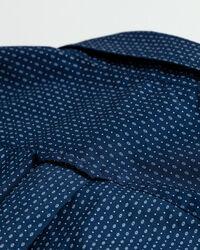 Tech Prep™ Slim Fit Broadcloth Hemd mit Mini-Print
