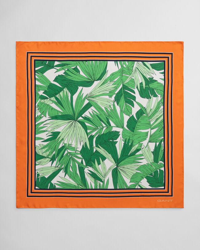 Palm Breeze Seidenschal mit Print