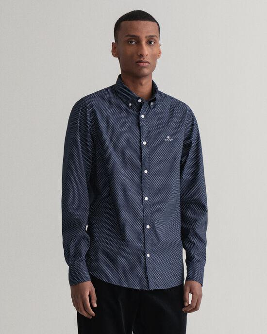 Tech Prep™ Slim Fit Pinpoint Oxford-Hemd