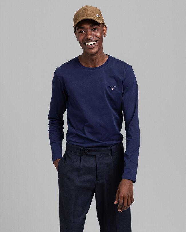 Original Slim Fit Langarm-T-Shirt