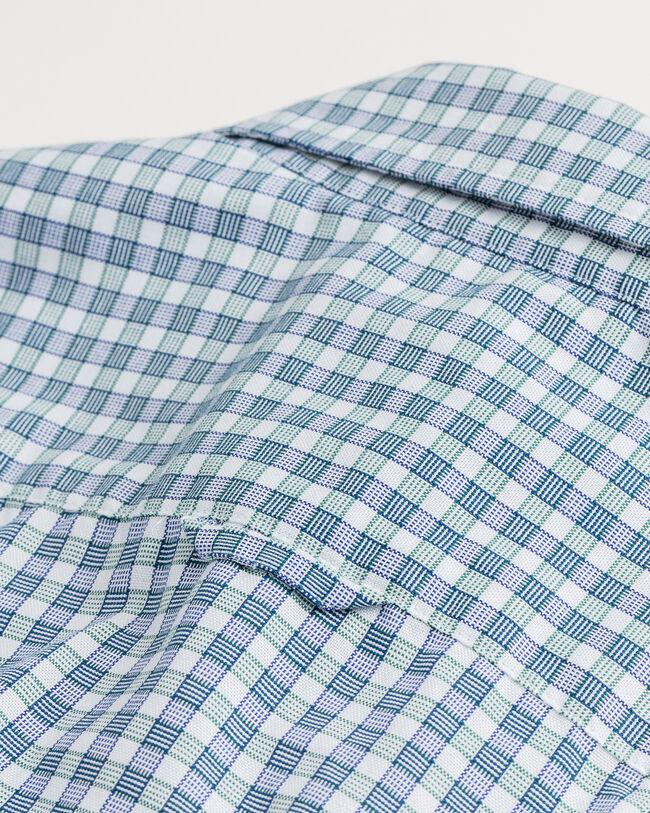 Tech Prep™ Slim Fit Oxford-Hemd im Vichy-Karo