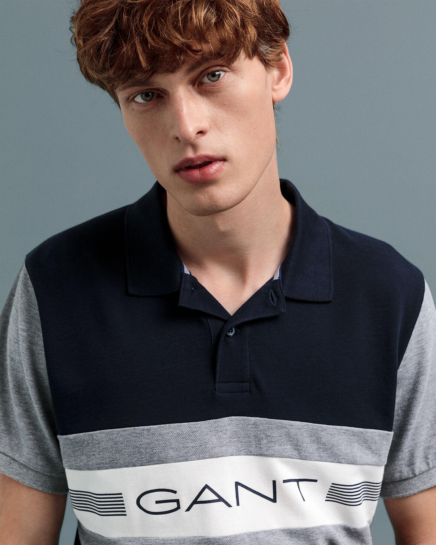 13 Stripes Piqué Rugger Poloshirt