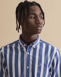Slim Fit Hemd mit Streifen