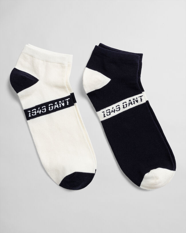 2er-Pack Knöchelsocken