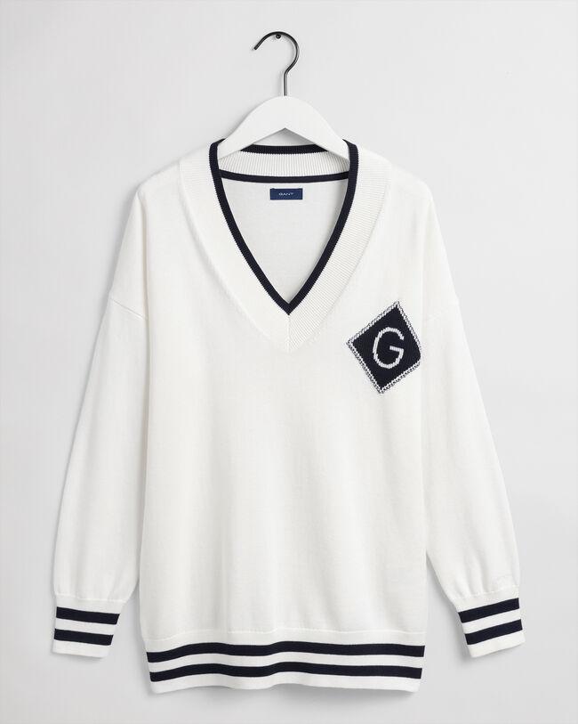 Iconic G V-Neck Pullover