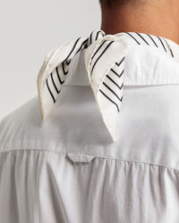 Crisp Kurzarmbluse in Weiß