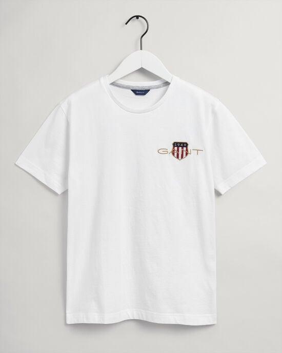 Teens Archive Shield T-Shirt mit Stickerei