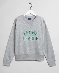 Femme League Rundhals-Sweatshirt