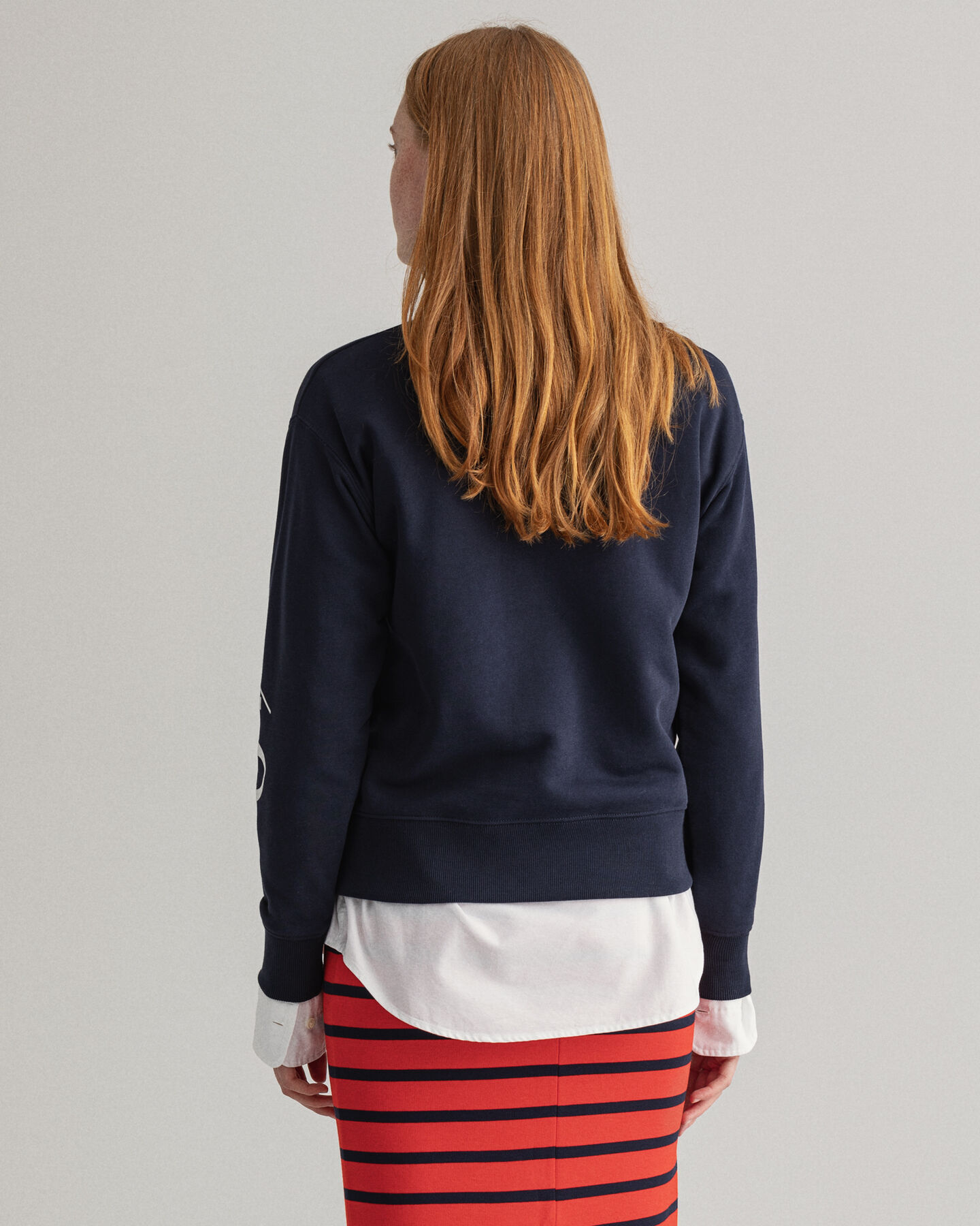 Nautical Rundhals-Sweatshirt