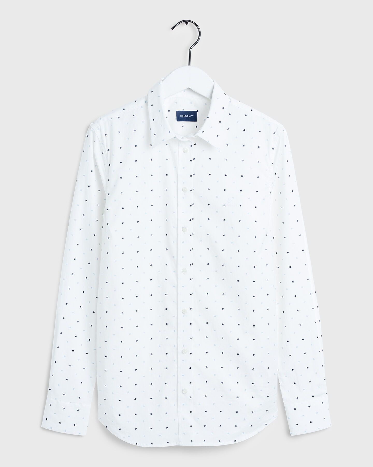 Polka Dot Stretch Broadcloth Shirt