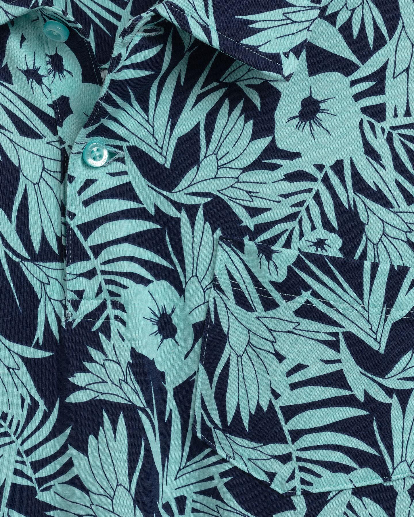 Tidal Bloom Rugger mit Print