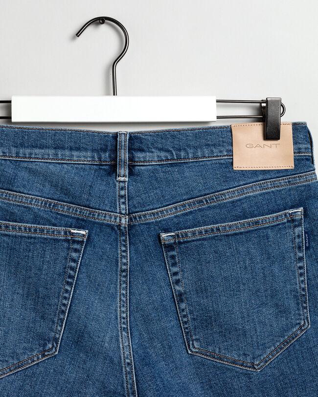Regular Fit Jeansshorts