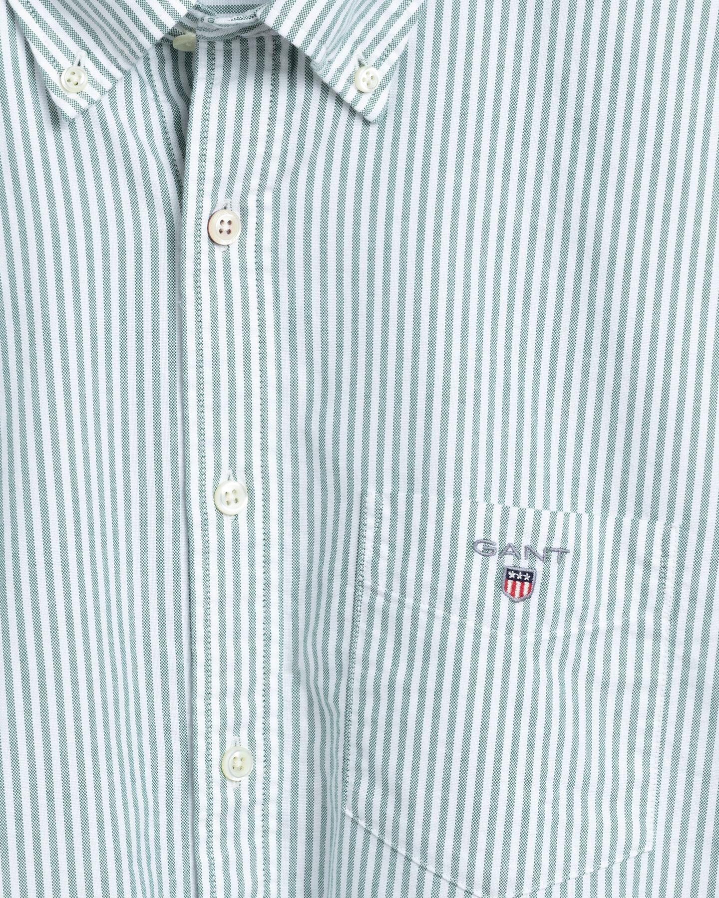 Regular Fit Oxford-Hemd mit Banker-Streifen