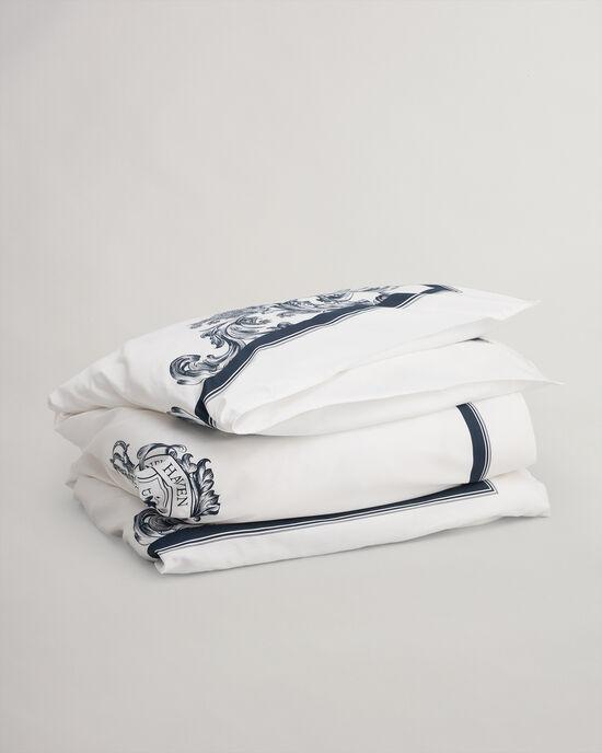 Crown Bettdeckenbezug mit Paisley-Design