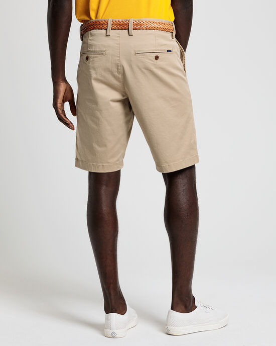 Relaxed Fit Twill Shorts