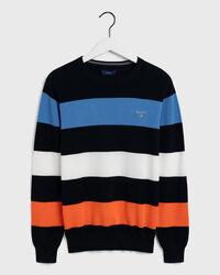 Piqué Multistripe Sweater
