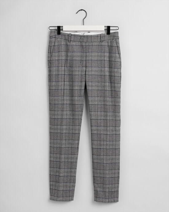 Classic Tapered Hose mit Karomuster