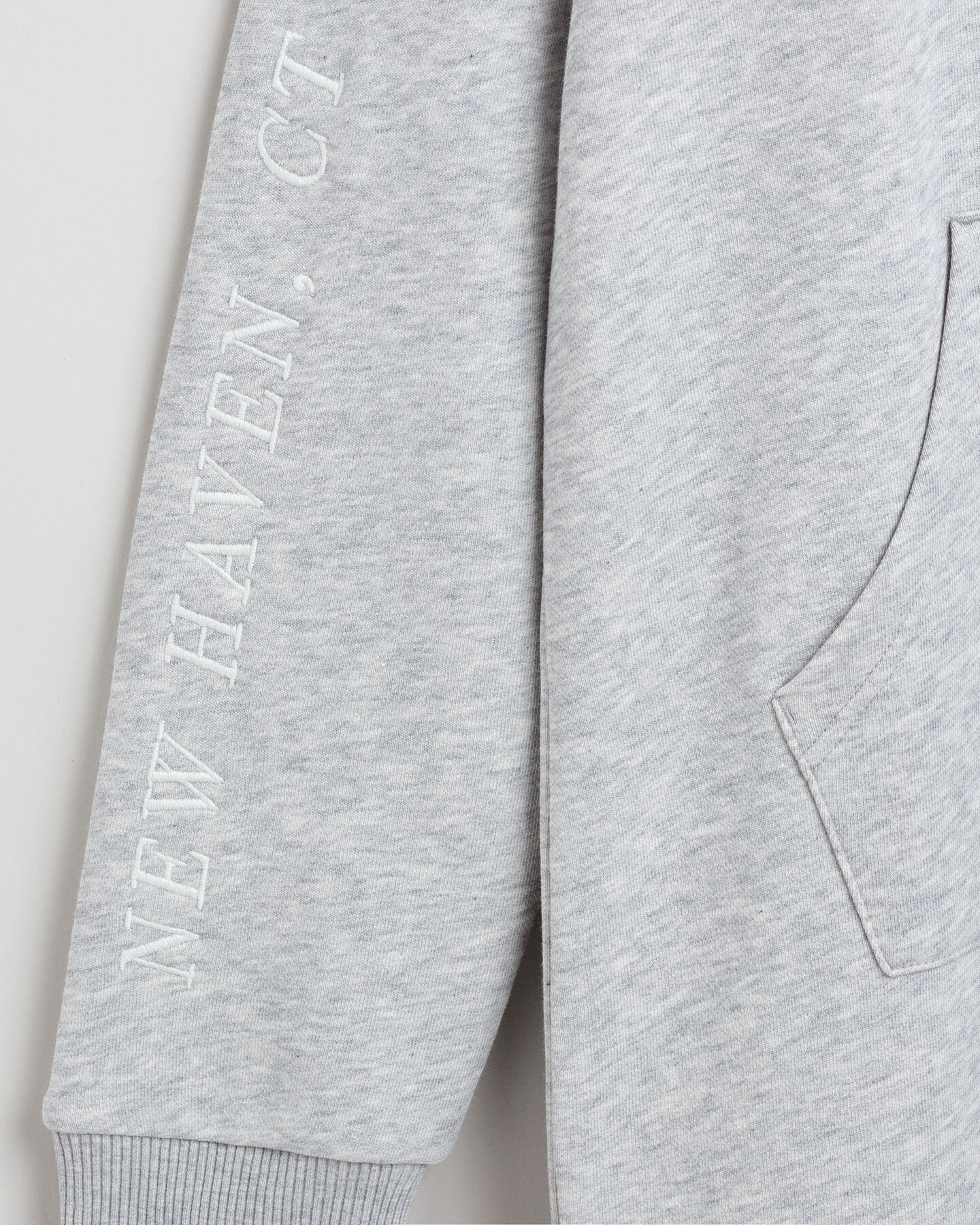 Graphic Sweat Hoodie Kleid