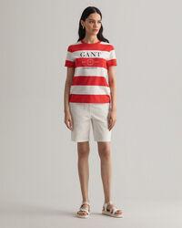 Nautical T-Shirt mit Streifen