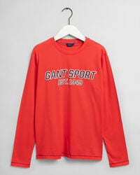 Teen Boys Sport Langarm-T-Shirt