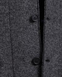 Slim Fit Boiled Wool Sakko