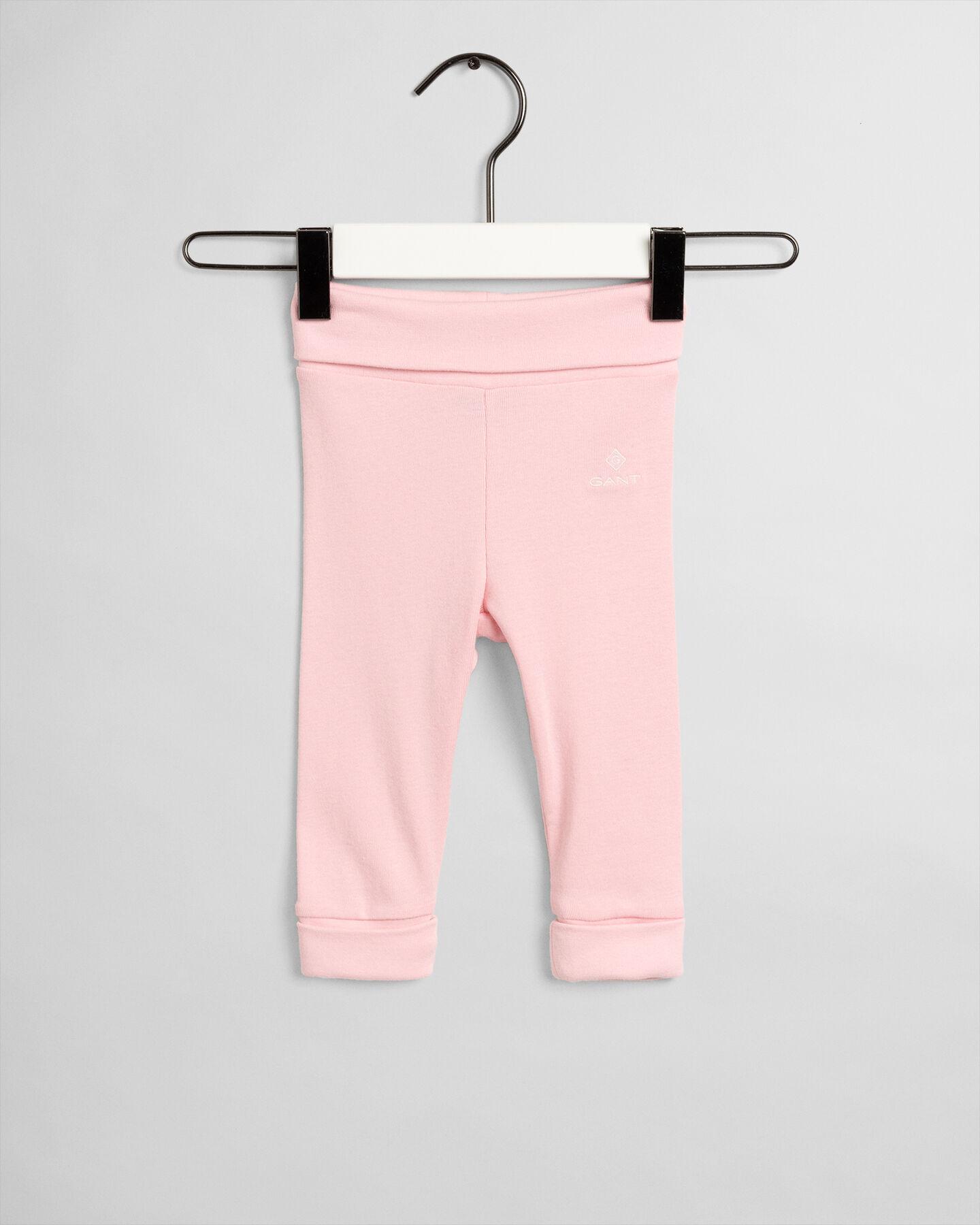Baby Organic Cotton Logo Pants