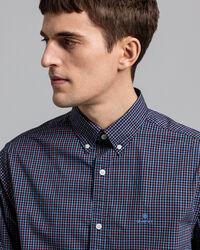 Tech Prep™ Regular Fit Broadcloth Hemd mit Karomuster