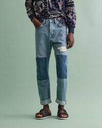 Classic Patch Jeans
