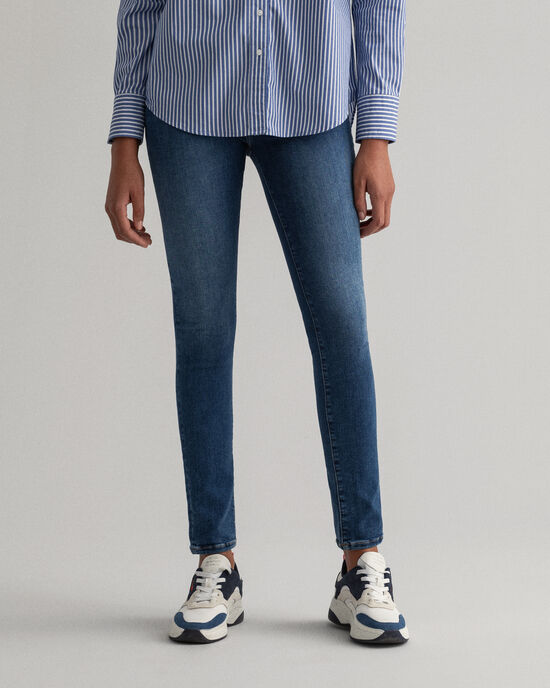 Nella Skinny Travel Indigo Jeans