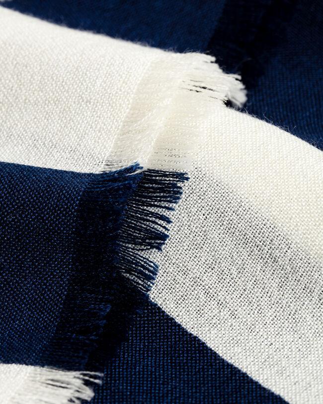 Schal mit Blockstreifen-Print