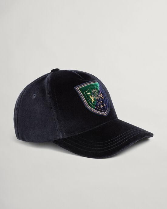 Crest Cap aus Samt