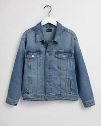 Teens Crest Denim Jacke