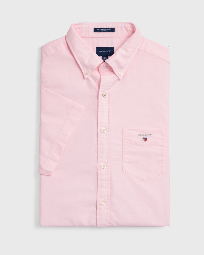 Regular Fit Kurzarm Oxford-Hemd