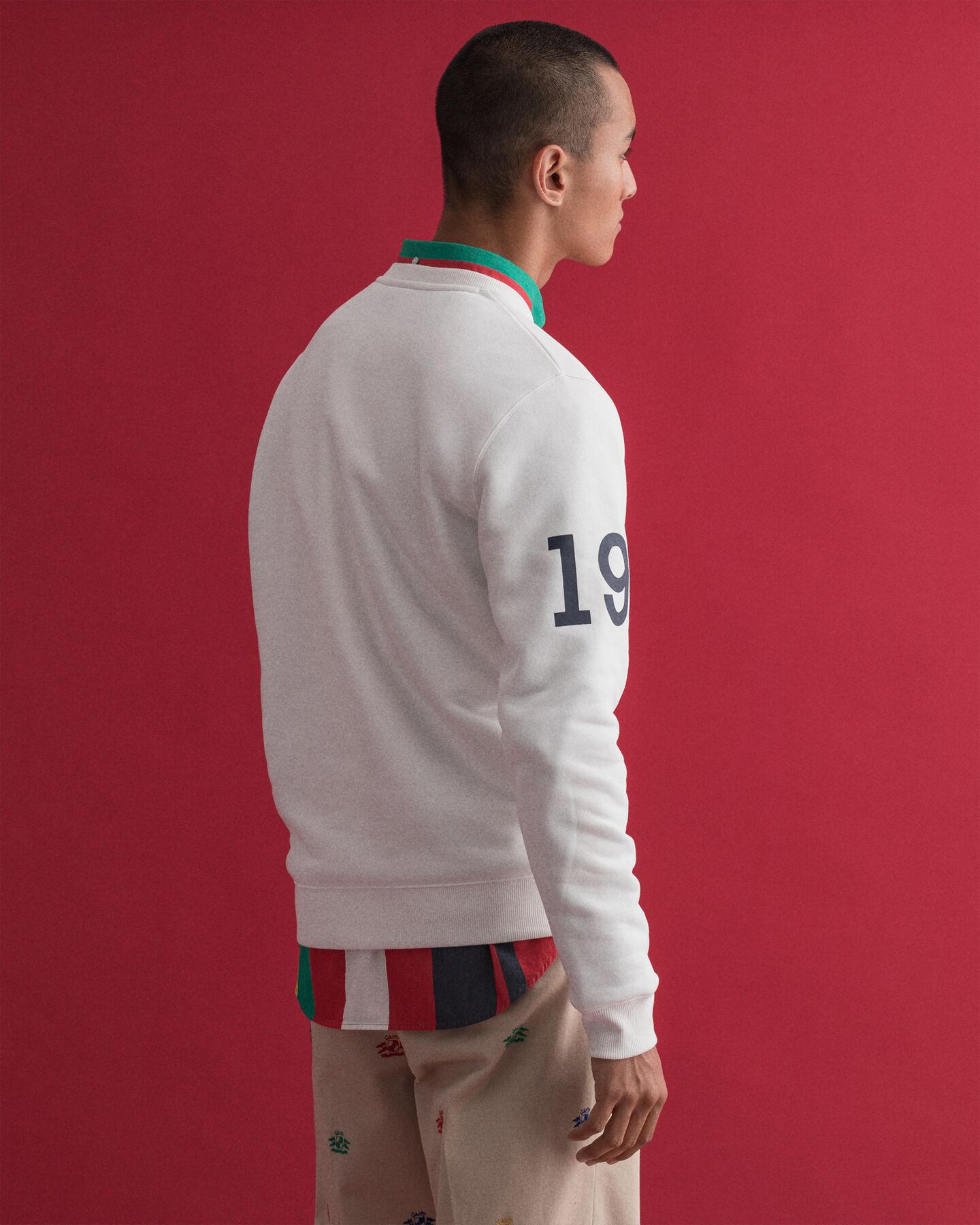 Nautical Rundhals-Sweatshirt