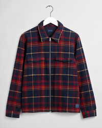 Hemdjacke aus Wollmischung