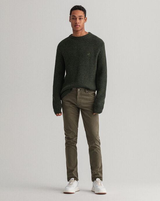Maxen Extra Slim Fit Satin-Jeans