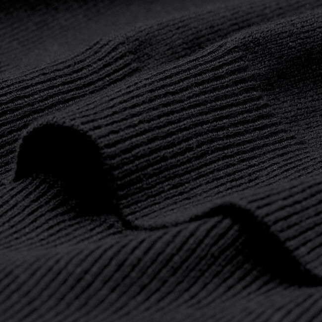 V-Neck Pullover aus Baumwoll-Wollmischung