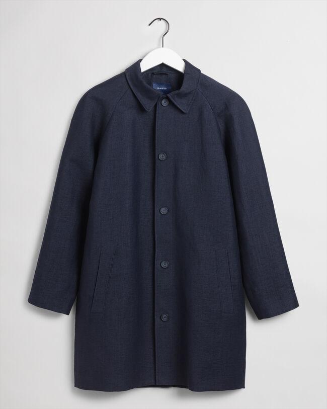 Car Coat aus Leinen