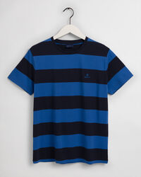 T-Shirt mit Blockstreifen