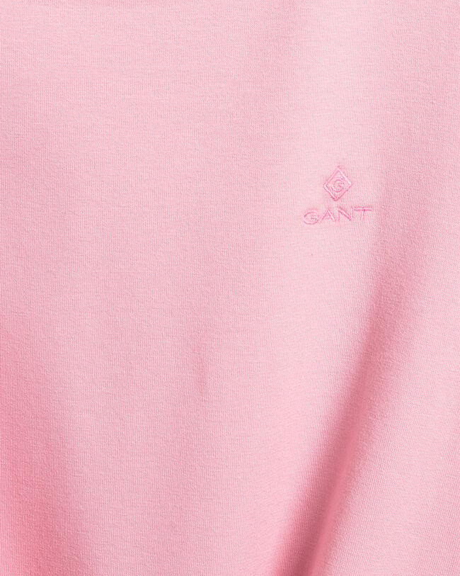 Rundhals-T-Shirt aus Stretchbaumwolle