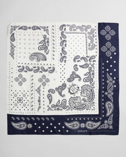 Seidenschal mit Paisley-Muster