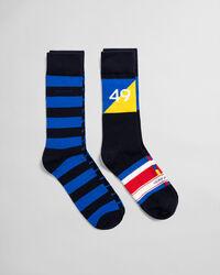 2er-Pack Rough Weather Socken mit Geschenkbox