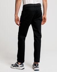 Schwarze Slim Fit Jeans