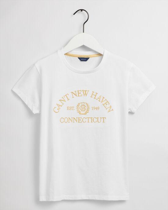 Teen Girls Monogram T-Shirt