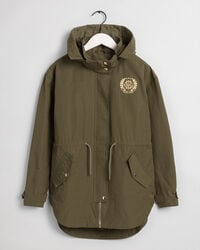 Teen Girls Monogram Parka