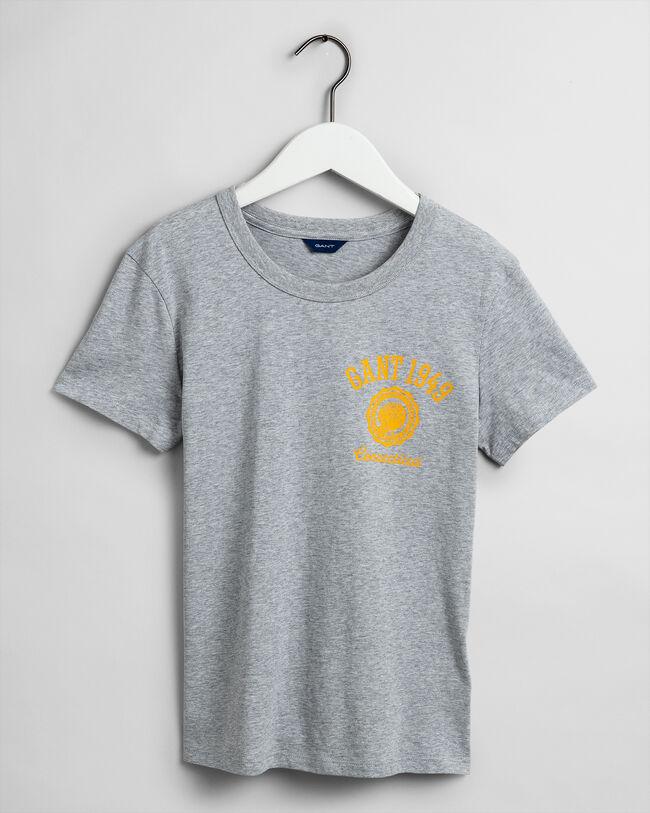 Peony Logo T-Shirt mit Grafik